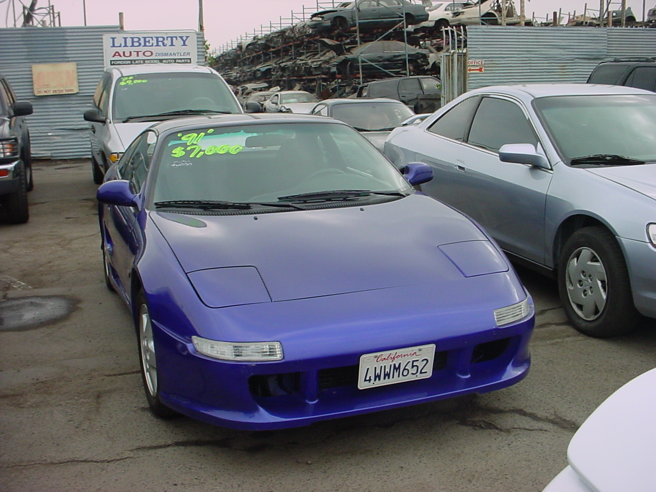 Toyota Mr2 Drgnfenxmr2 Kits I Stumbled On This Nice Purple 1991 At A Used Car Dealer In 2002 Being Sold For 7000 Although Like The Smooth Look Of Molded Body