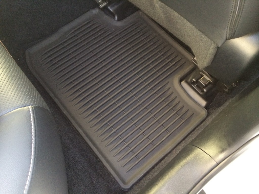 Floor Mats All Weather Passenger Rear
