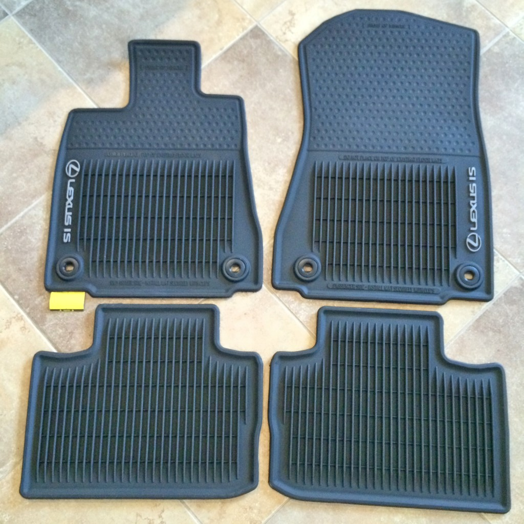 Lexus IS Floor Mats All Weather Floor Mats